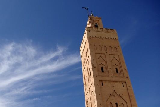 Mosquée Sidi Bel Abbès, située au Nord de la Médina à Marrakech