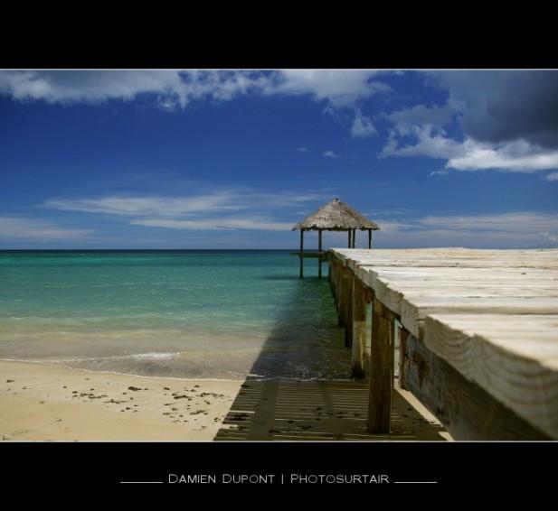 S'il y a un endroit qui symbolise Mayotte - côté plage -, c'est bien N'Gouja. On peut aller accompagner les tortues vertes sur les herbiers à quelques dizaines de mètres de la plage, les makis (petits lémuriens) et les roussettes (grandes chauves souris diurnes) peuplent les baobabs. C'est plutôt une plage de blancs (mzungu) mais on commence à voir des familles mahoraises et surtout beaucoup de gamins qui jouent pendant des heures au bout du ponton. Géo = 45°05'E | 12°57'S