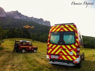 Intervention St Bernard - Juillet 2015