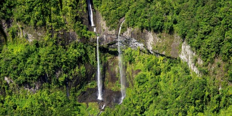 Les cascades de Tacamaca