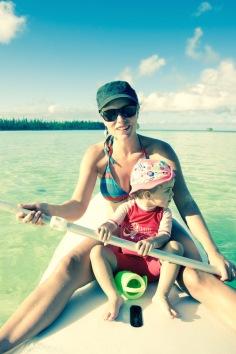 Paddle à l'Île des Pins