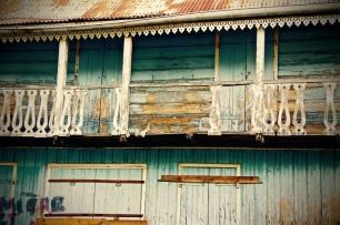 Vieille bâtisse à Cilaos